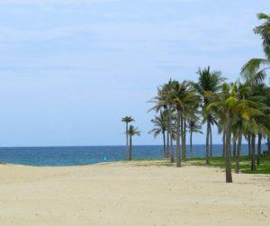 beach at The Nam Hai