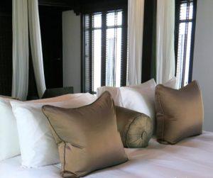 bedroom at The Nam Hai