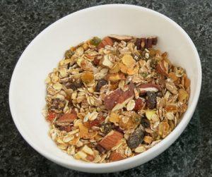 homemade vegan granola at The Nam Hai
