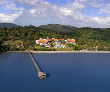 aerial view of The Westin Langkawi