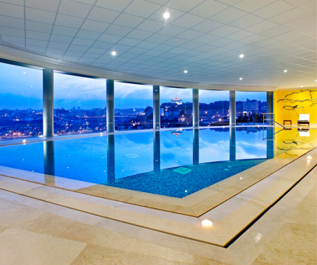indoor swimming pool and spa at The Yeatman