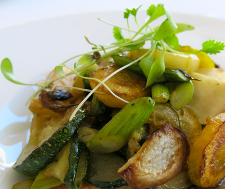 Fresh seasonal produce cooked to perfection at The Yeatman