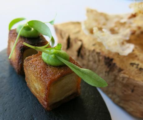 amazing vegan food at The Yeatman