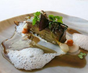 vegan fine dining at The Yeatman