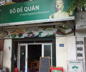 Bo De Quan at Hanoi West Lake