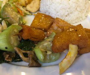 Vegan spare ribs at Bo De in Hanoi