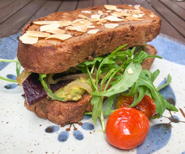Enso Cafe vegan food