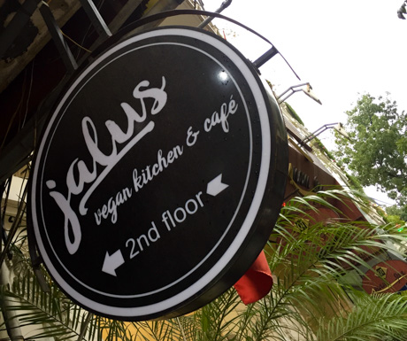 Jalus vegan restaurant in Hanoi.