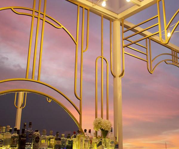 Juniper Gin Bar sunset view phnom penh