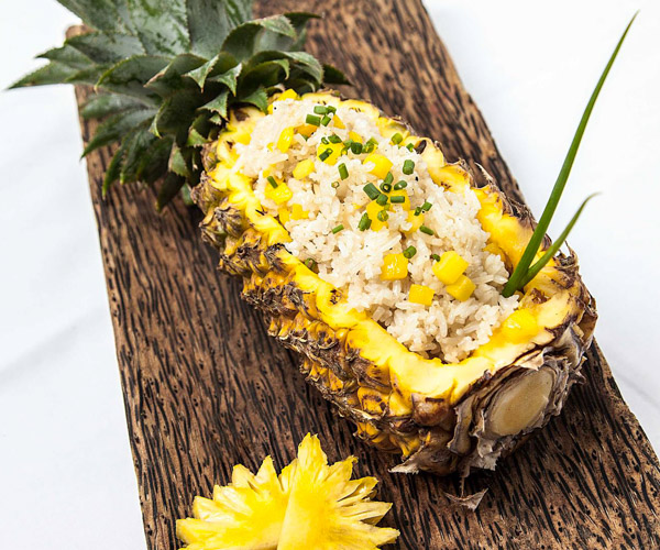 Malis pineapple fried rice