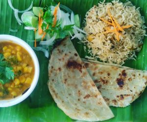 Masala Dosa Street Kitchen vegan curry