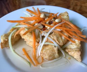 Mercy House Phnom Penh vegan tofu