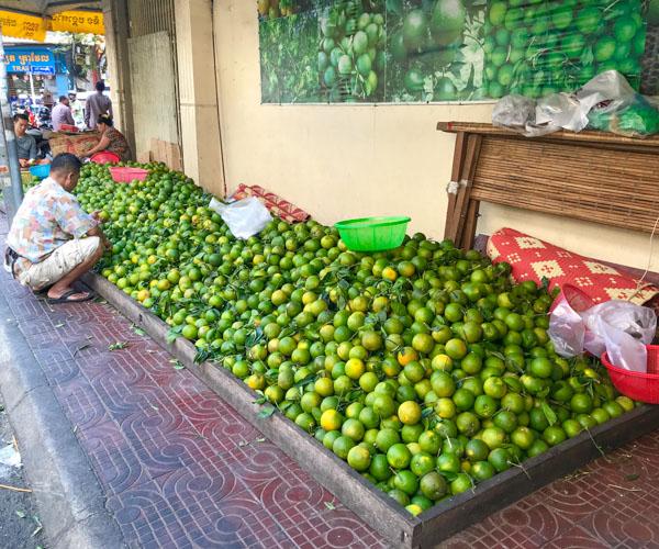 Orange juice Phnom Penh 1