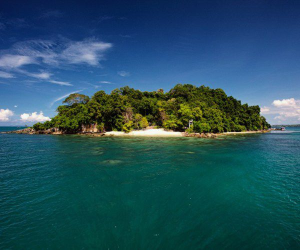 View of Six Senses Krabey Island