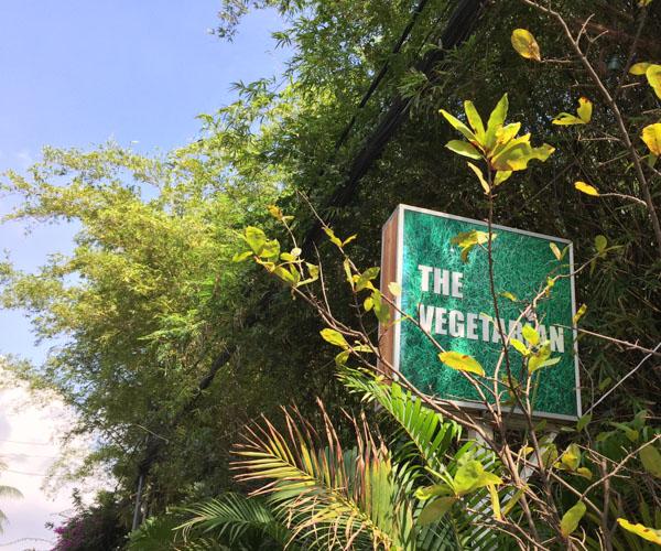 The Vegetarian restaurant in Phnom Penh