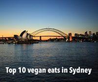 Top 10 vegan eats in Sydney