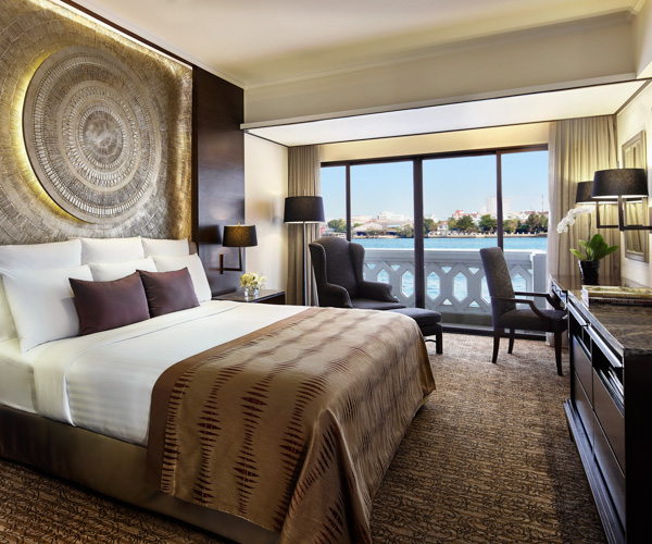 River view room at Anantara Riverside Bangkok Resort