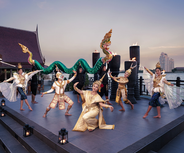 Cultural show at Anantara Riverside Bangkok Resort