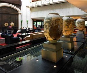 Lobby at Anantara Riverside Bangkok Resort