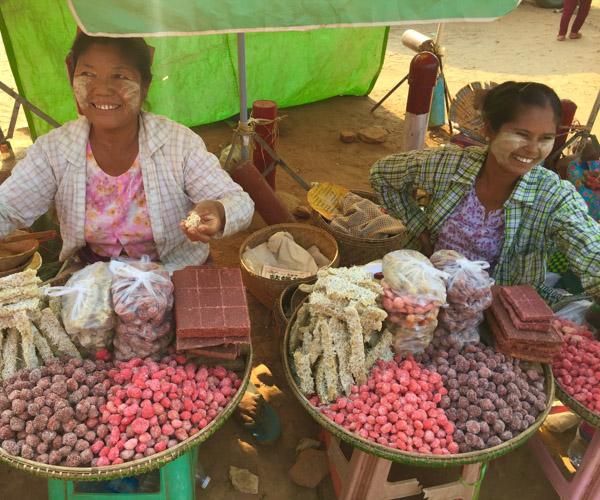 Bagan vegan street food 2