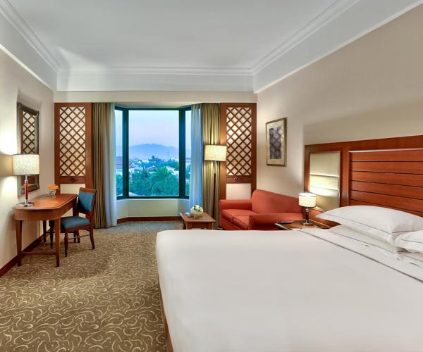 Executive room at Hilton Mandalay