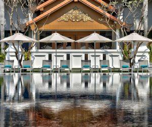 Swimming pool at Hilton Mandalay