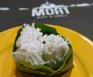 Vegan dessert at Hilton Mandalay