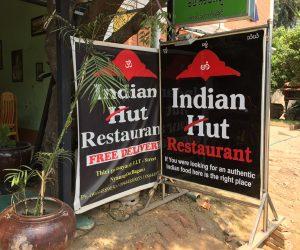 Indian Hut in Nyaung U