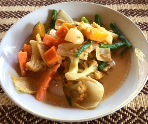 Massaman curry at Home Food and Drink