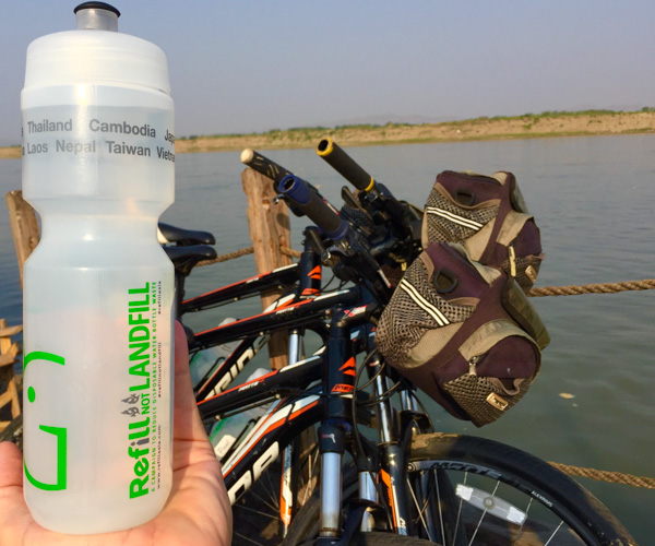 Refill not Landfill with Grasshopper Adventures