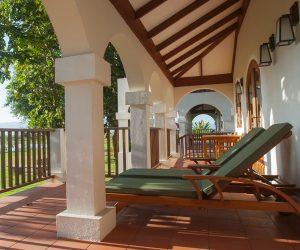 Private terrace in our junior suite