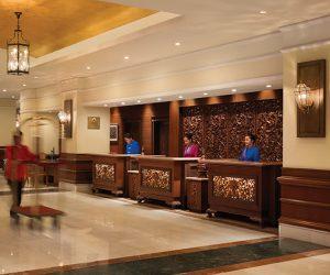 Lobby at Sule Shangri-La Yangon