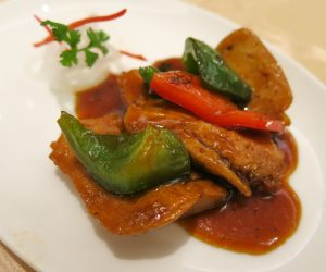 Vegan chicken at Summer Palace