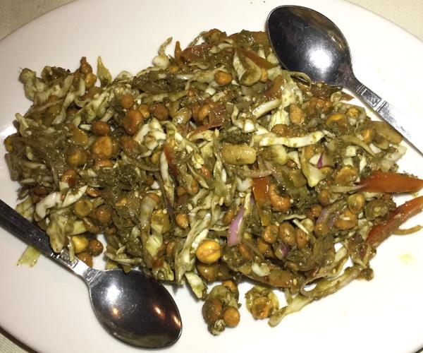 tea leaf salad at Social House