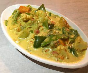 vegan curry at Star Beam