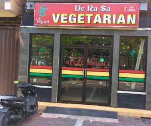 De Ra Sa Vegetarian exterior