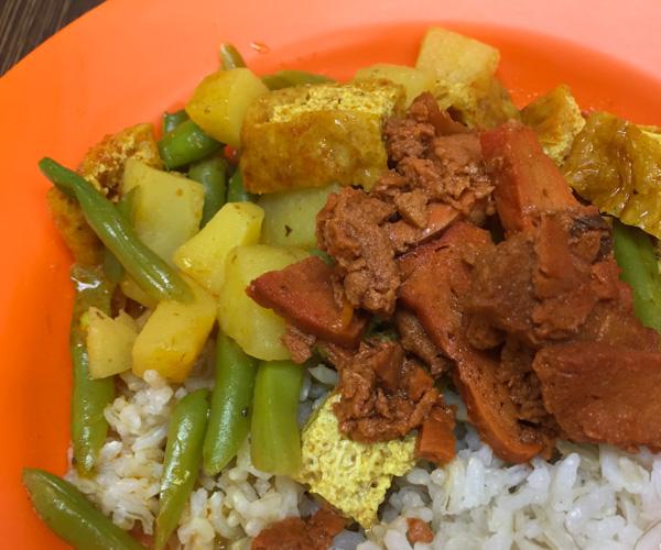 Happy Chefs Kuala Lumpur vegan food