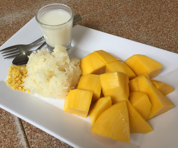 Mango Sticky Rice in Phuket