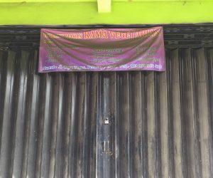 Rama Vegetarian in Bali was closed