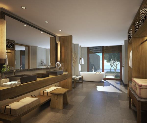 Six Senses Uluwatu One Bedroom Villa Bathroom