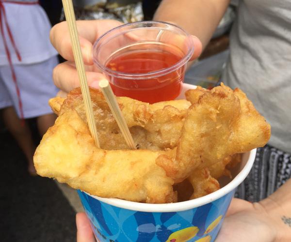 Vegan tempura