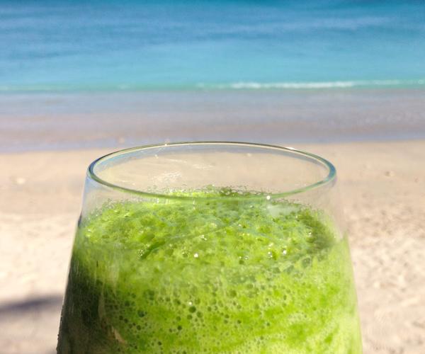 7 Secrets Resort green juice