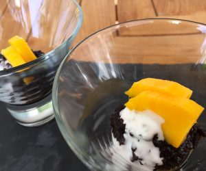 Mango and sticky rice at 7 Secrets Resort