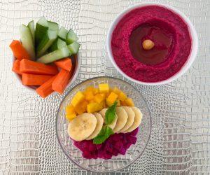 Vegan breakfast at 7 Secrets Resort