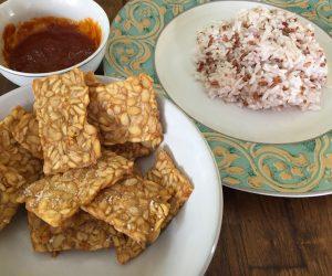 Ghiridari vegan food Bali 1
