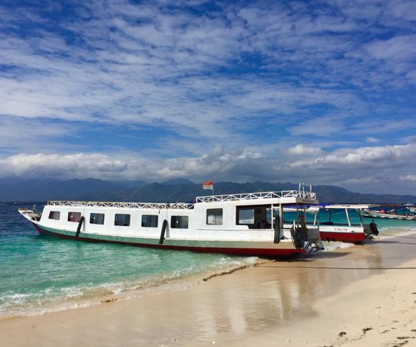 Gili Tranwangan local ferry