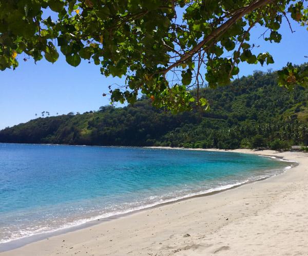Pantai Nipah in Lombok