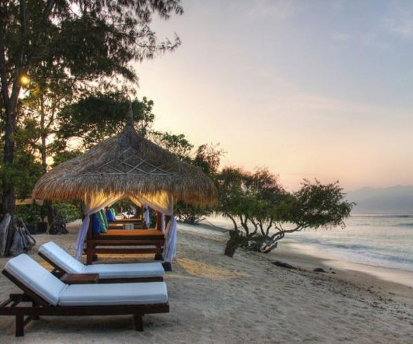 Beach at Pondok Santi