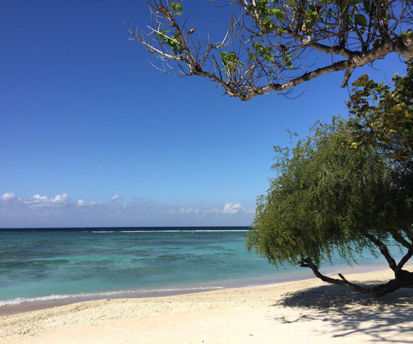 Private Beach at Pondok Santi