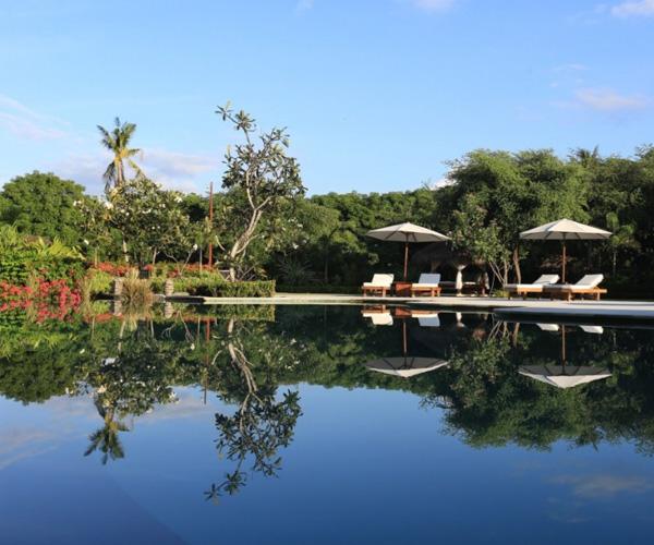 Swimming Pool at Pondok Santi